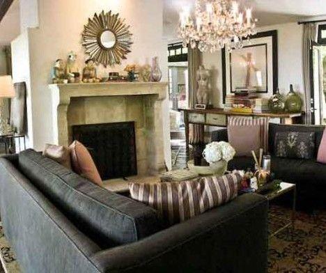 Bu kareler de Molly Simms'in Hollywood tepelerindeki muhteşem malikanesinden Ünlülerin rüya evleri - 1  Ünlülerin rüya evleri - 2